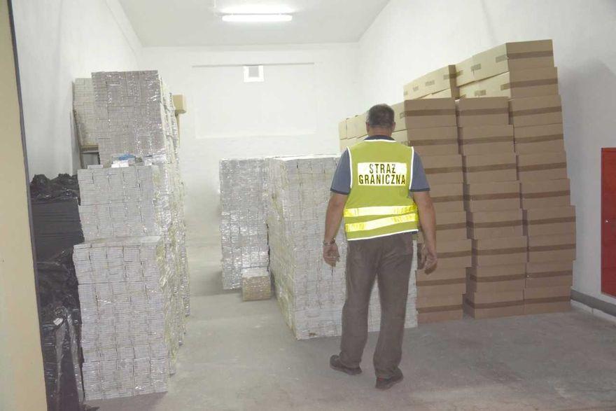 Region: Papierosy bez akcyzy za ponad 2 miliony