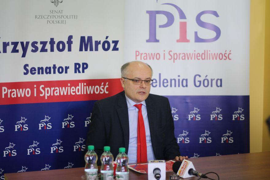 Jelenia Góra: Senator K. Mróz: dziś mija termin oświadczeń