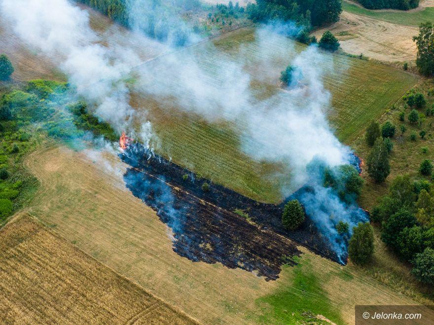 Jelenia Góra: Pożar przy Wolności