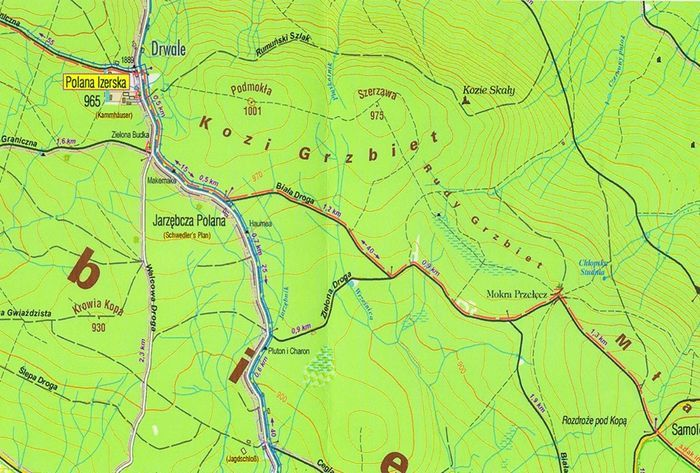Region: Zmiana na Głównym Szlaku Sudeckim