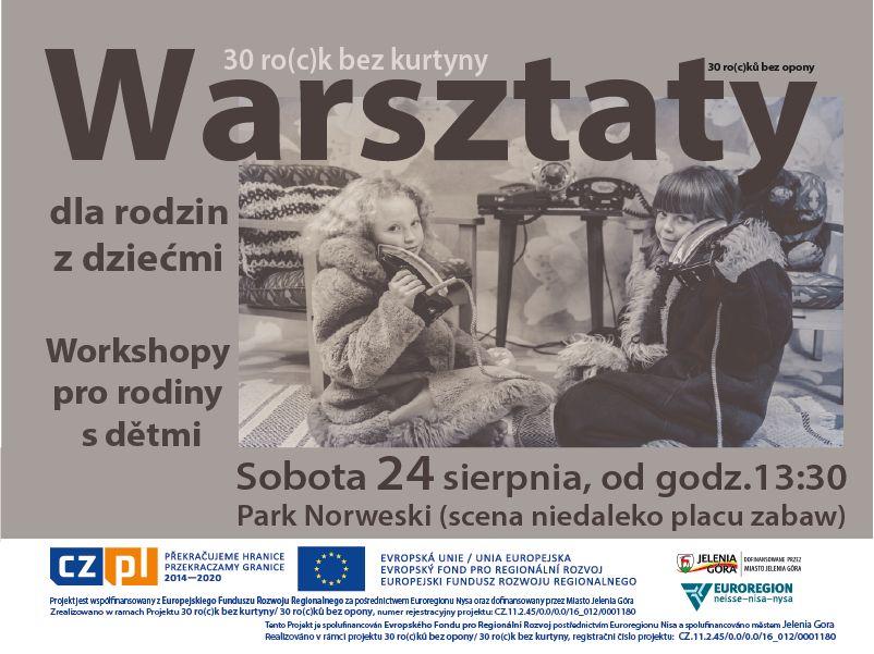 Jelenia Góra: Warsztaty rodem z PRL–u w Parku Norweskim – dzisiaj
