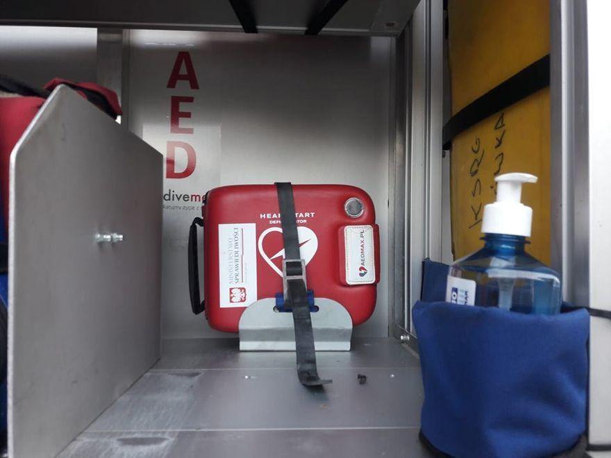 Sosnówka: Strażacy zabiegają o kolejny defibrylator