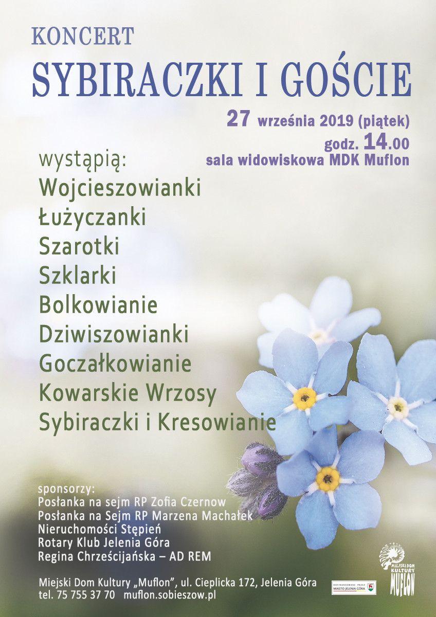 Jelenia Góra: Sybiraczki i Goście – koncert w