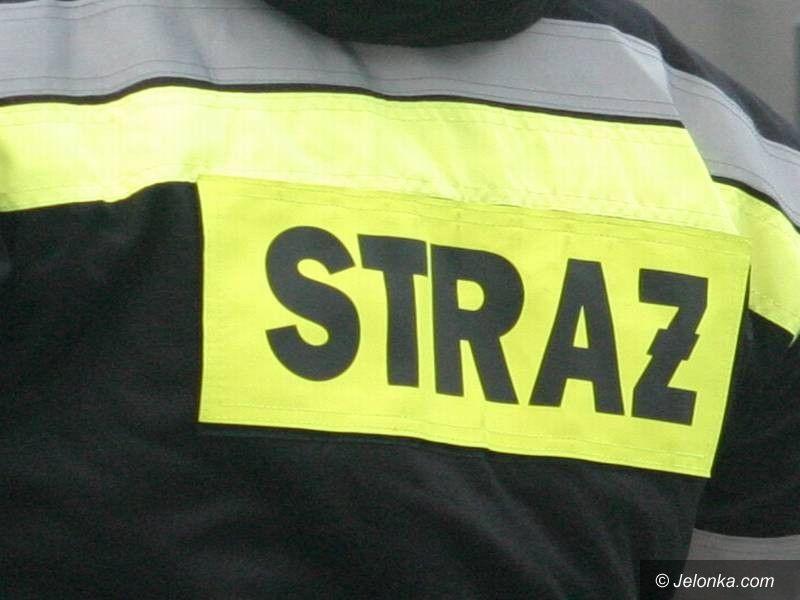 Karpacz: Pożar samochodu w Karpaczu
