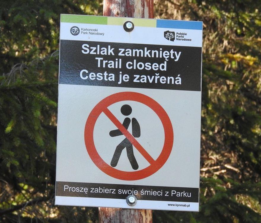 Szklarska Poręba: Te szlaki zostały czasowo zamknięte
