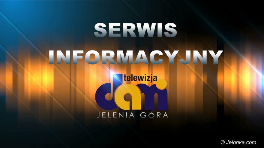Jelenia Góra: 2019.10.24 Serwis Informacyjny TV Dami Jelenia Góra
