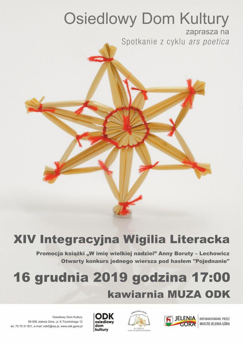 Jelenia Góra: Integracyjna wigilia literacka w ODK