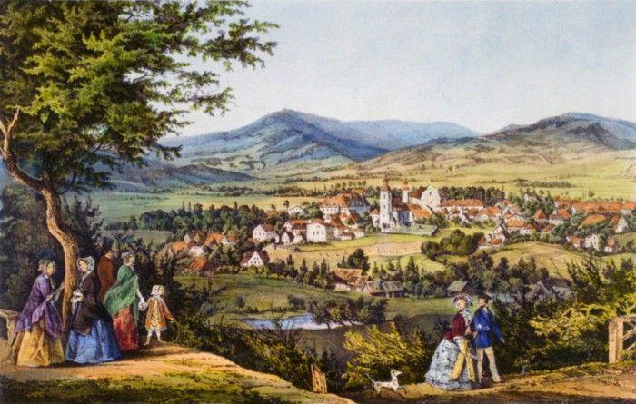Jelenia Góra: Jan Ewangelista Purkynie w Cieplicach