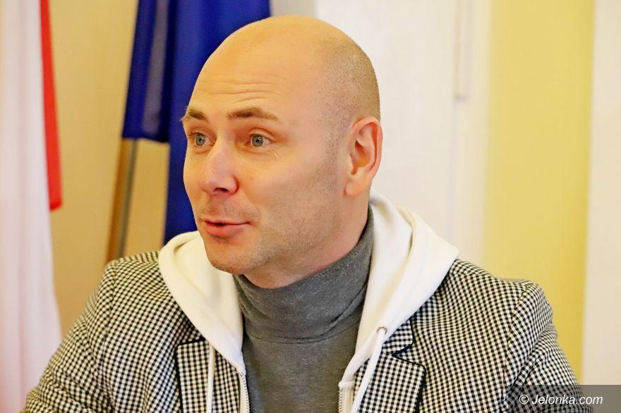 Jelenia Góra: Marcin Wyrostek z Jelenią Górą w sercu