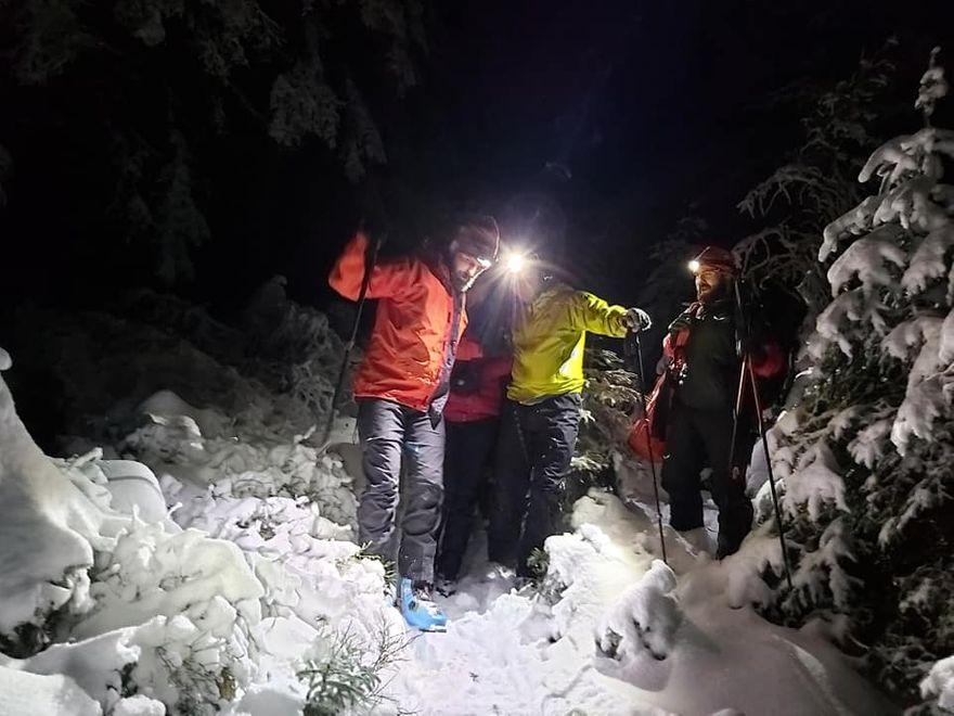 Karkonosze: Pracowita niedziela ratowników GOPR