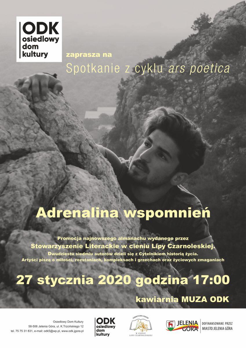 Jelenia Góra: Ars poetica: Adrenalina wspomnień
