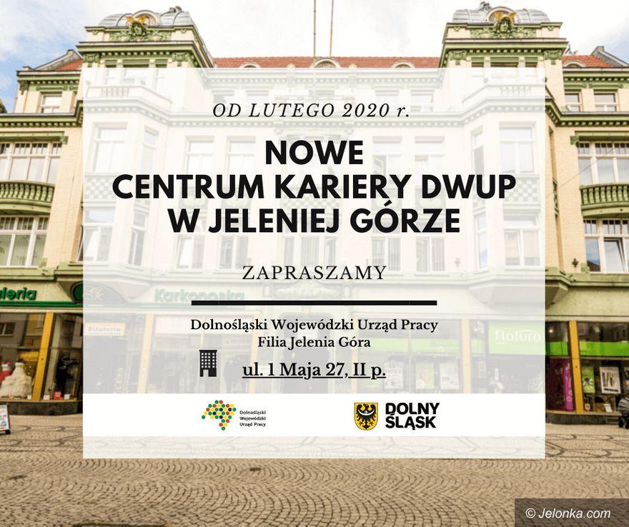 Jelenia Góra: Przeprowadzka Centrum Kariery DWUP