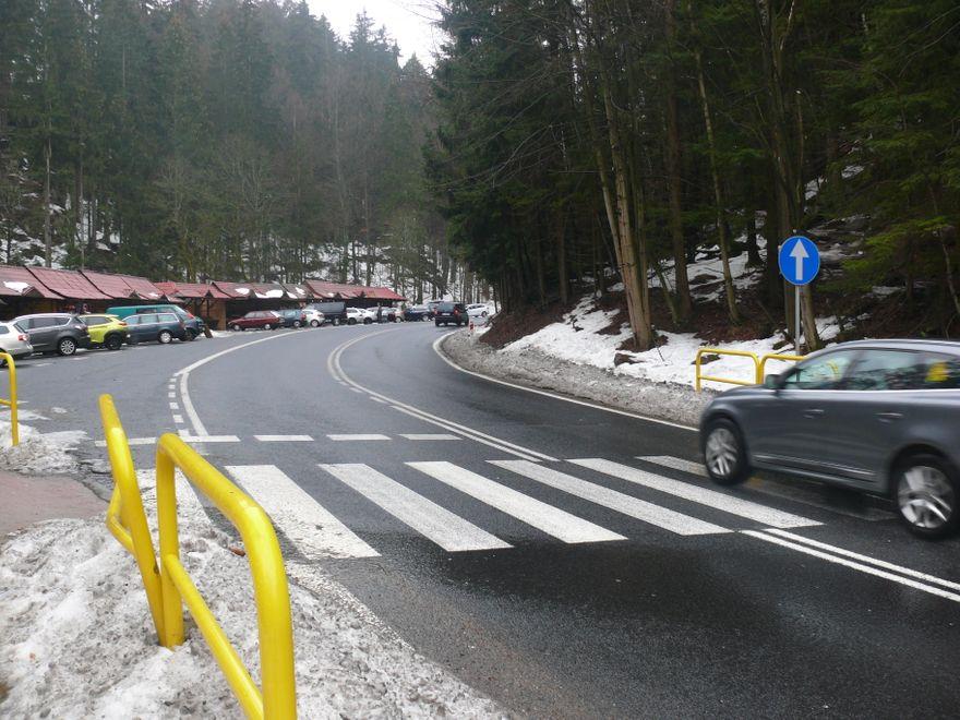 Region: Groźne przejście do Wodospadku Szklarki