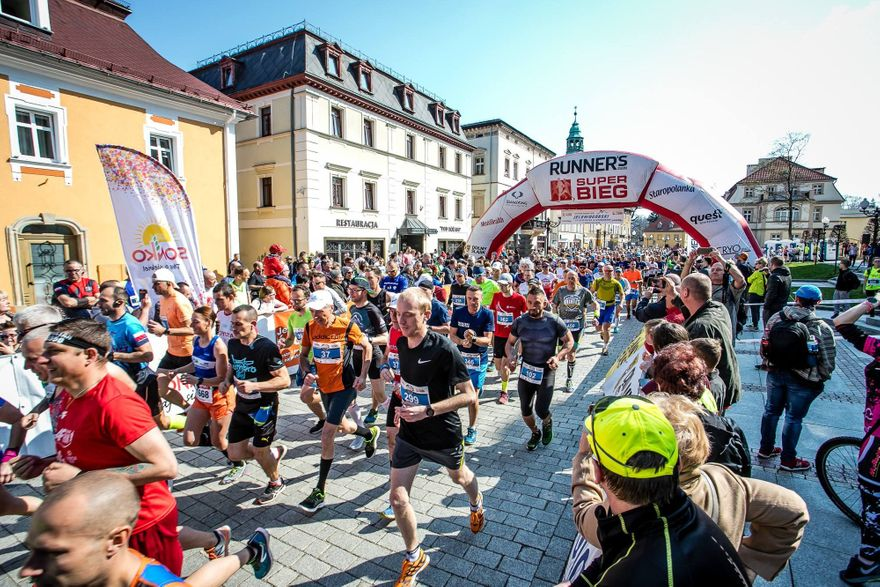 Jelenia Góra: Półmaraton w kwietniu