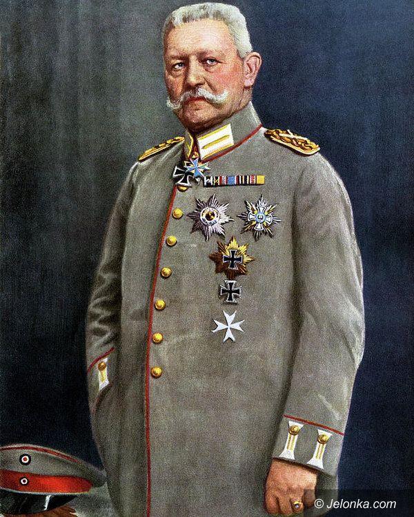 Jelenia Góra: Paul von Hindenburg, Jelenia Góra i Cieplice