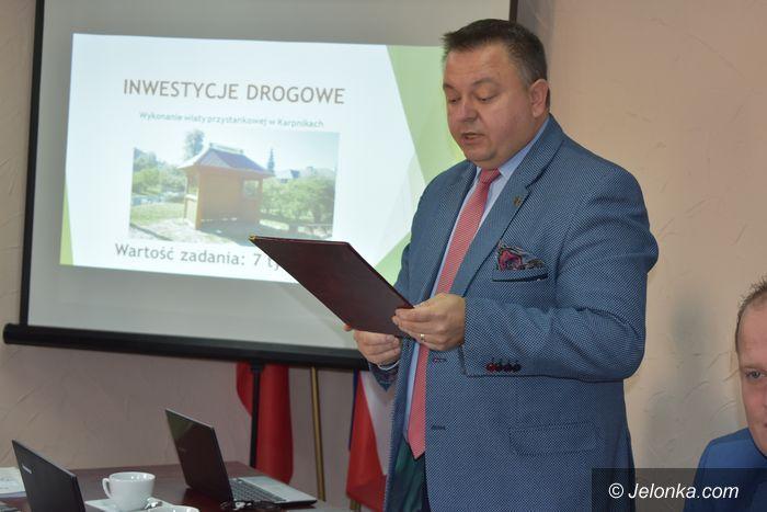 Powiat: M. Orman rezygnuje