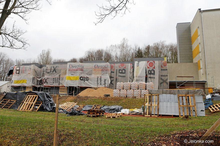 Jelenia Góra: Wieści z rozbudowy SOSW