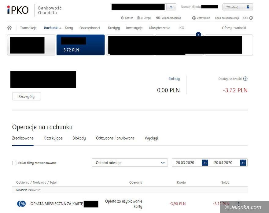 Jelenia Góra: Bezzasadna opłata za kartę?