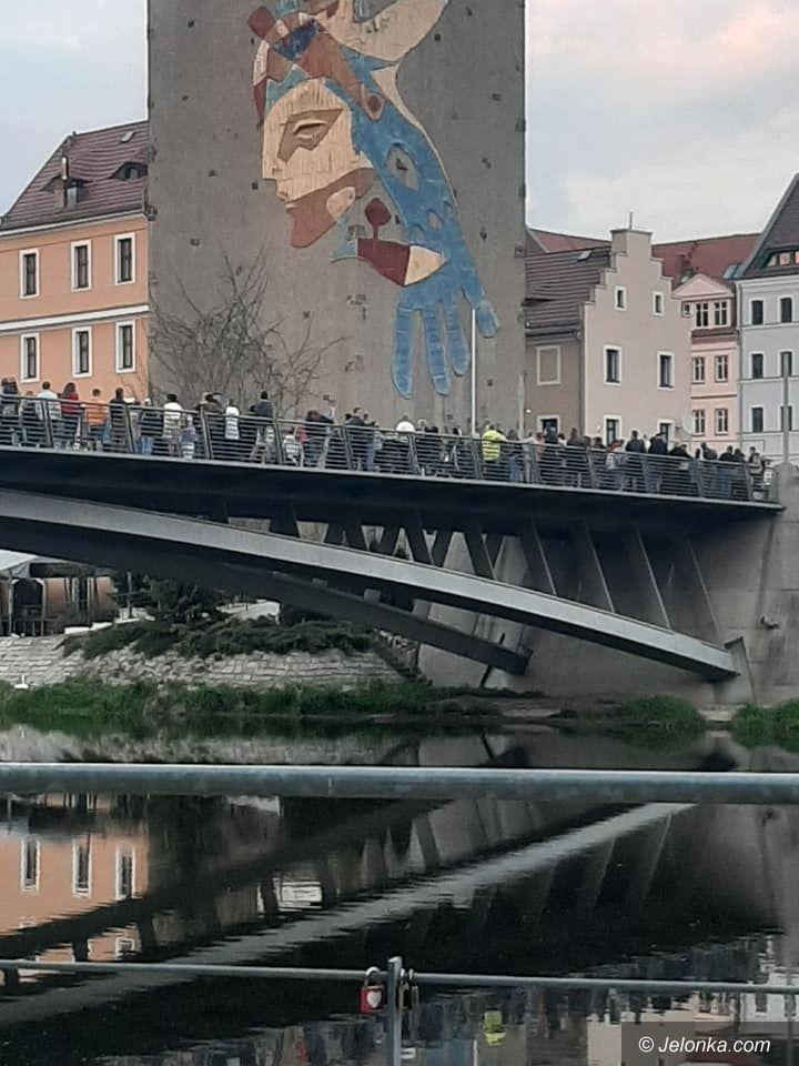 Zgorzelec: Protest przy granicy