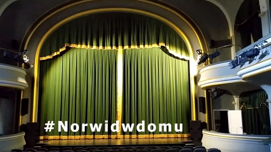 Jelenia Góra: #NorwidwDomu – PAN JOWIALSKI (fragmenty)