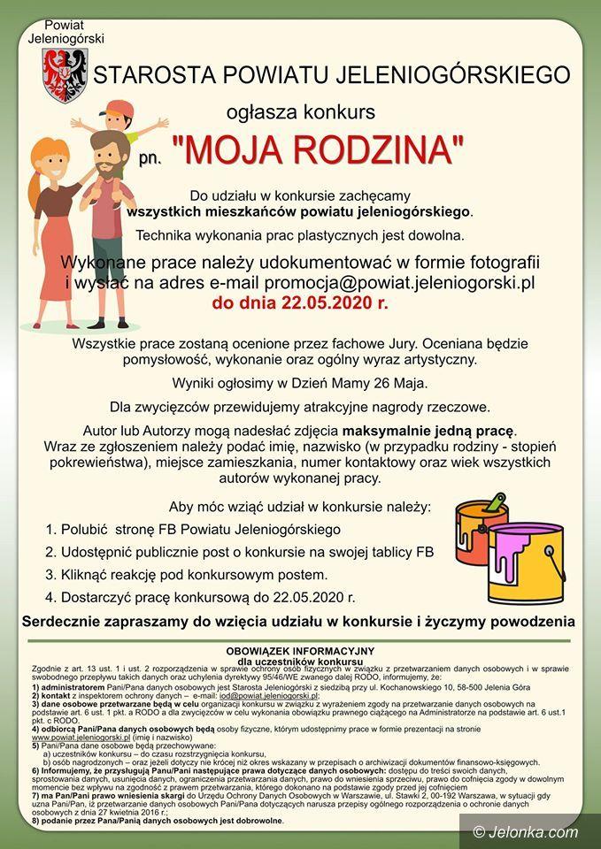 """Jelenia Góra: Konkurs """"Moja Rodzina"""""""