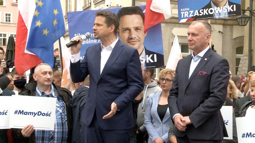 Jelenia Góra: Tłumy na spotkaniu z Rafałem Trzaskowskim