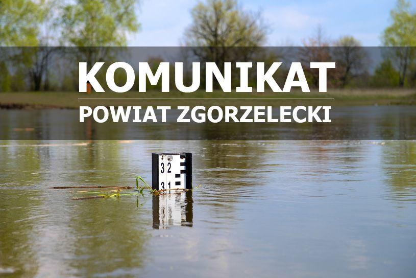 Zgorzelec: Podwyższony stan wód w powiecie zgorzeleckim