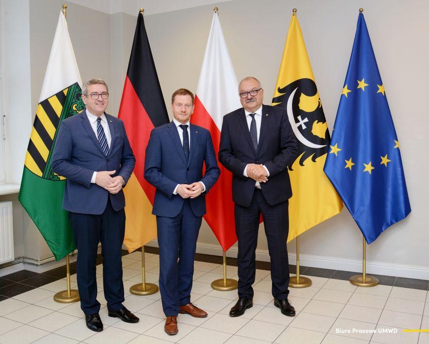 Region: Premier Saksonii gościem marszałka
