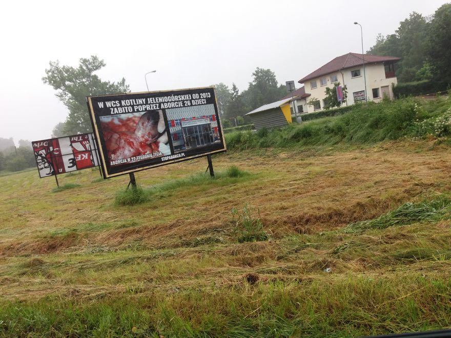 Jelenia Góra: Drastyczne billboardy