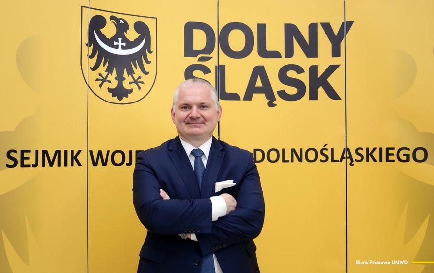 Region: Paweł Wybierała w Zarządzie Województwa Dolnośląskiego