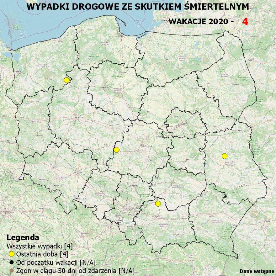 Polska: Mapa ku przestrodze