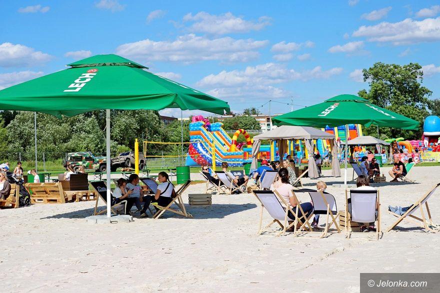 Jelenia Góra: Plaża nad Bobrem otwarta