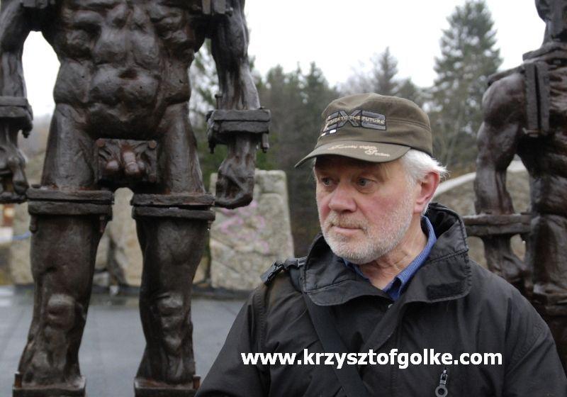 Szklarska Poręba/Bingen: Zbigniew Frączkiewicz na Triennale Rzeźby w Bingen