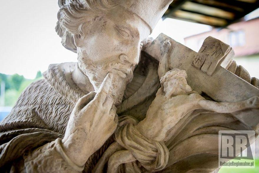 Kamienna Góra: Pomnik Nepomucena odrestaurowany