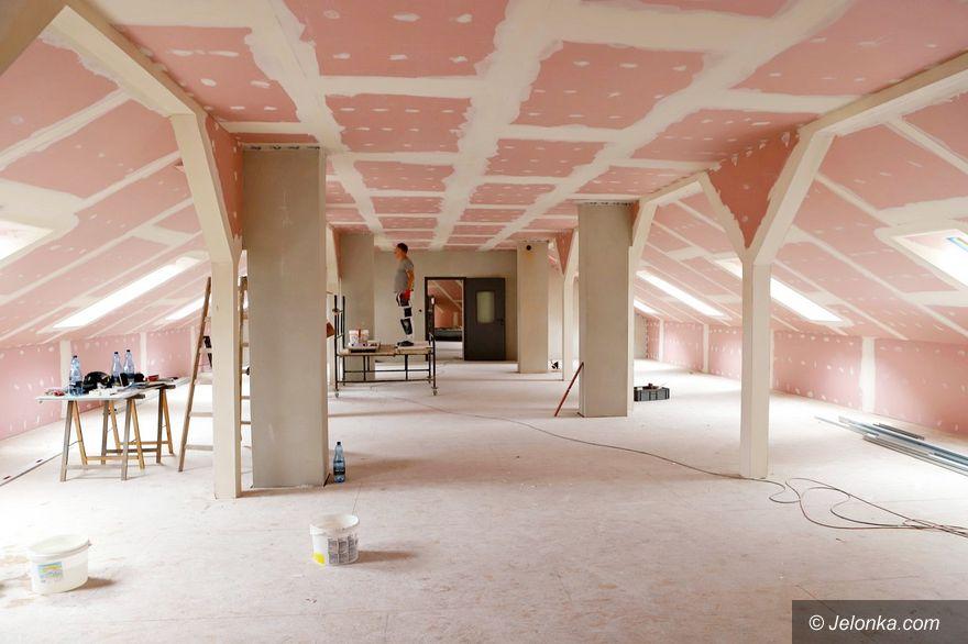 Jelenia Góra: Interaktywne centrum w budowie u strażaków