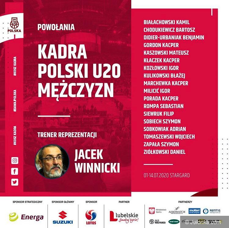 Polska: Zawodnik Sudetów na zgrupowaniu kadry Polski
