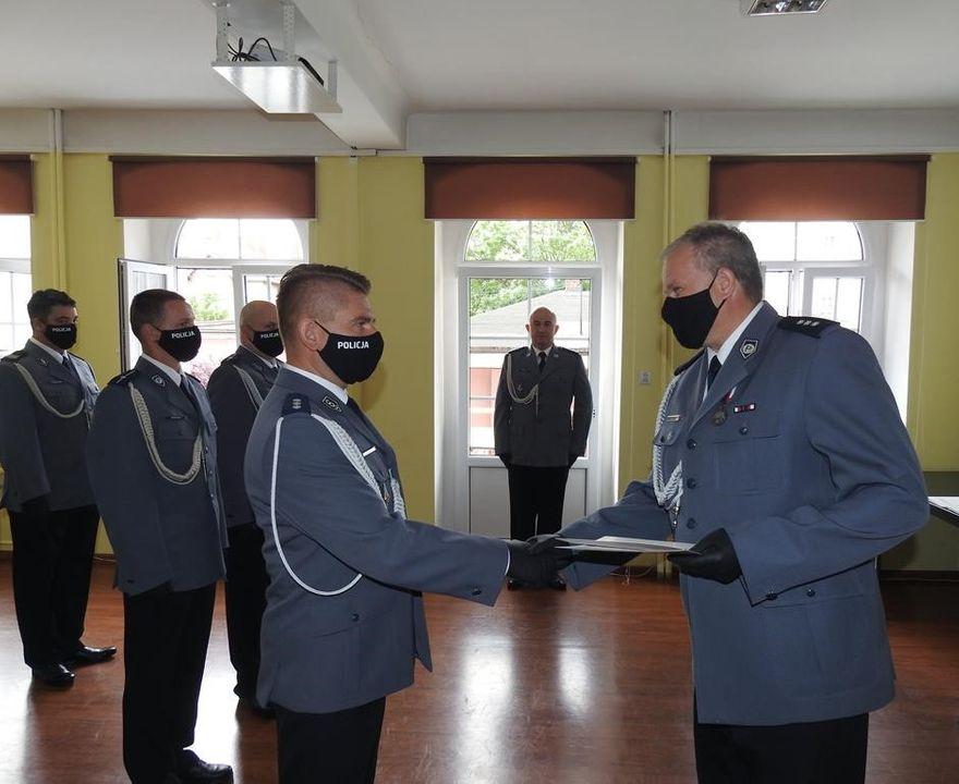 Lwówek Śląski: Święto  policji w Lwówku Śląskim
