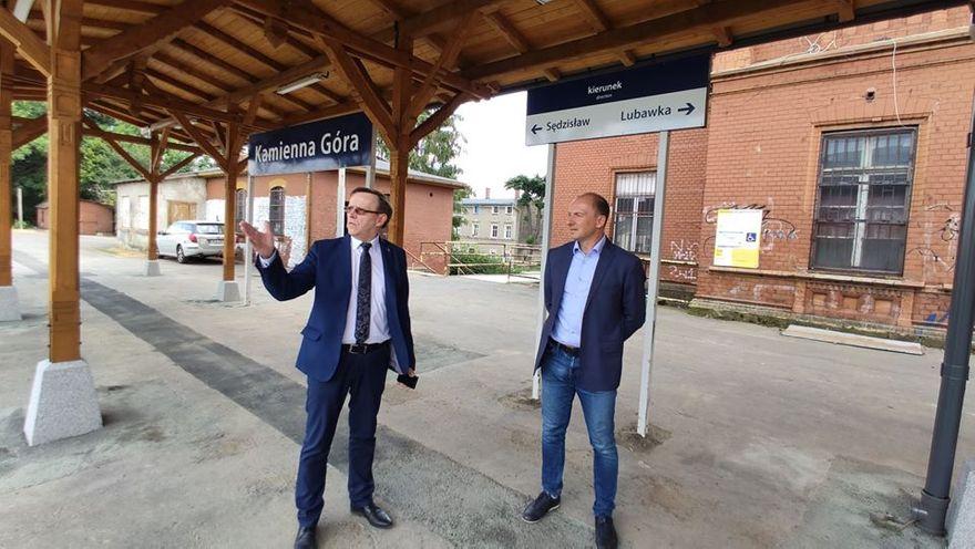 Kamienna Góra: Plany rewitalizacji linii kolejowej Kamienna Góra – Kowary