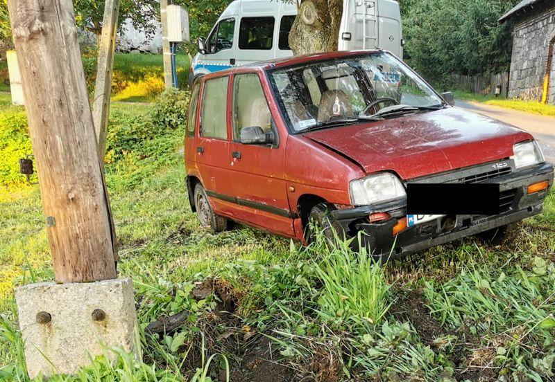 Powiat: 22–latek próbował uciec przed kontrolą drogową