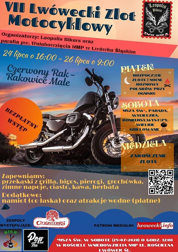 Rakowice Małe: VII Lwówecki Zlot Motocyklowy
