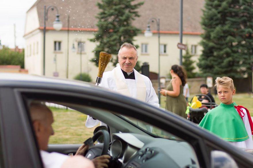 Krzeszów: Święcenie pojazdów w Krzeszowie