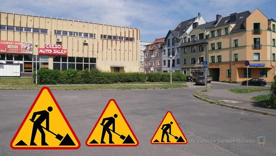 Lubań: Od poniedziałku utrudniony przejazd przez centrum