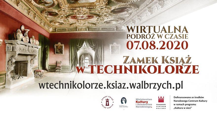Wałbrzych: Zamek Książ w technikolorze – podróż w czasie do zamku sprzed 100 lat