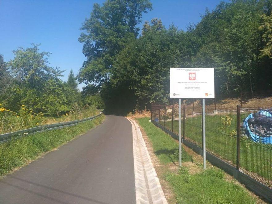 Milęcice, Wojciechów: Finał remontu drogi