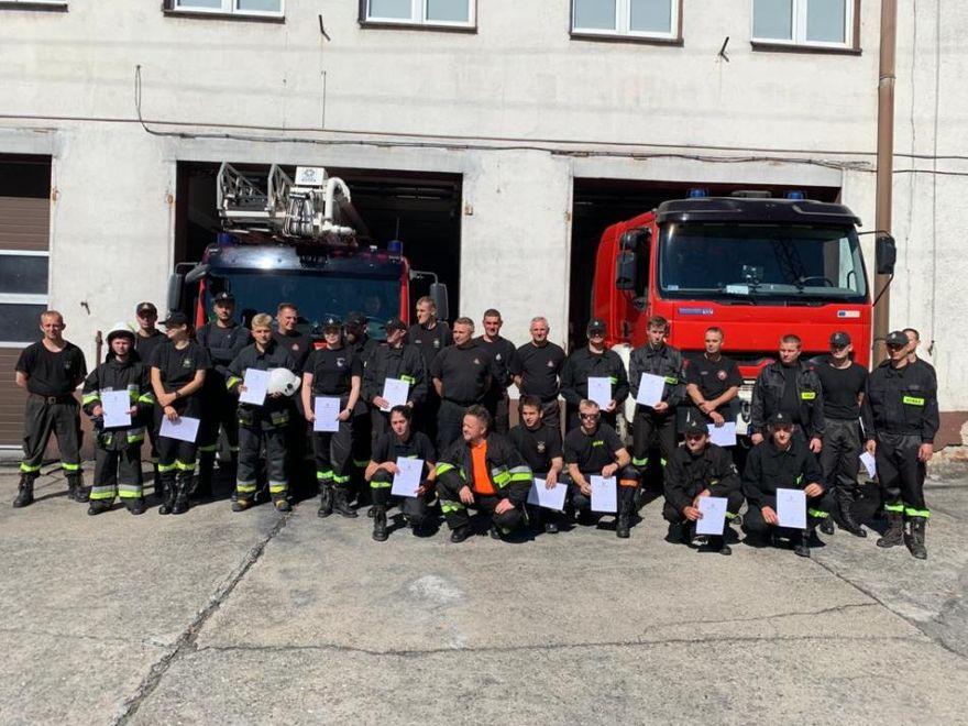 Lwówek Śląski: Strażacy przeszli szkolenie