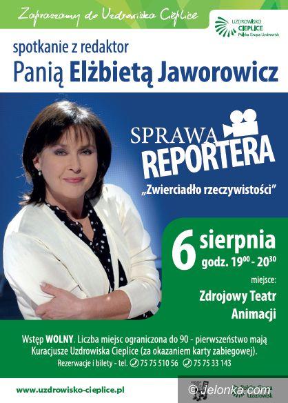 Jelenia Góra: W czwartek spotkanie z Elżbietą Jaworowicz