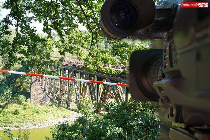 Pilchowice: Kolski kręci film w Pilchowicach – utrudniena