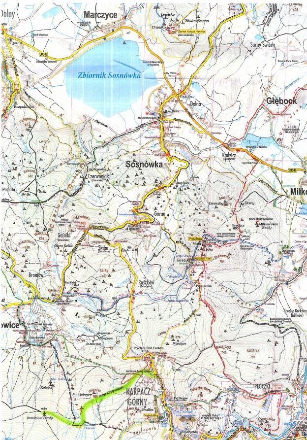 Powiat: Zamknięta droga Chomontowa