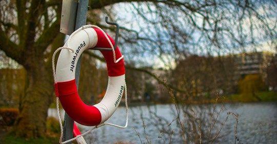 Lubań: Uratowali tonącego