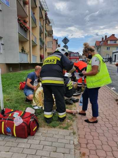 Kamienna Góra: W bloku wybuchł gaz